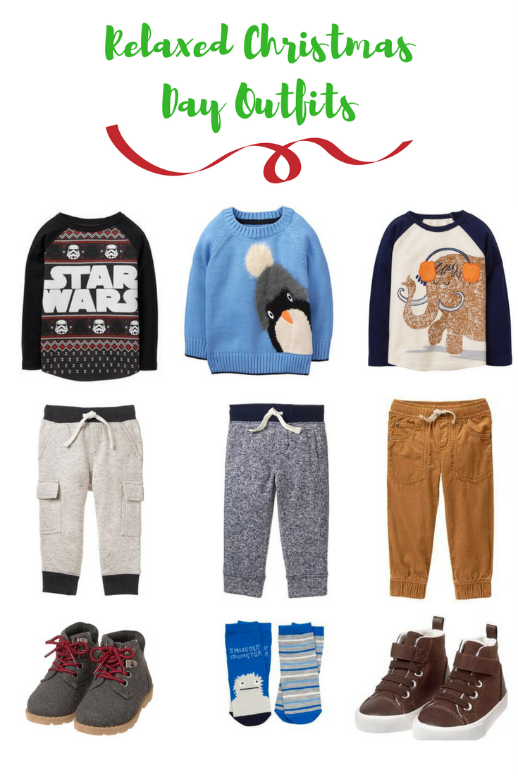 Relaxed Christmas Day Outfits