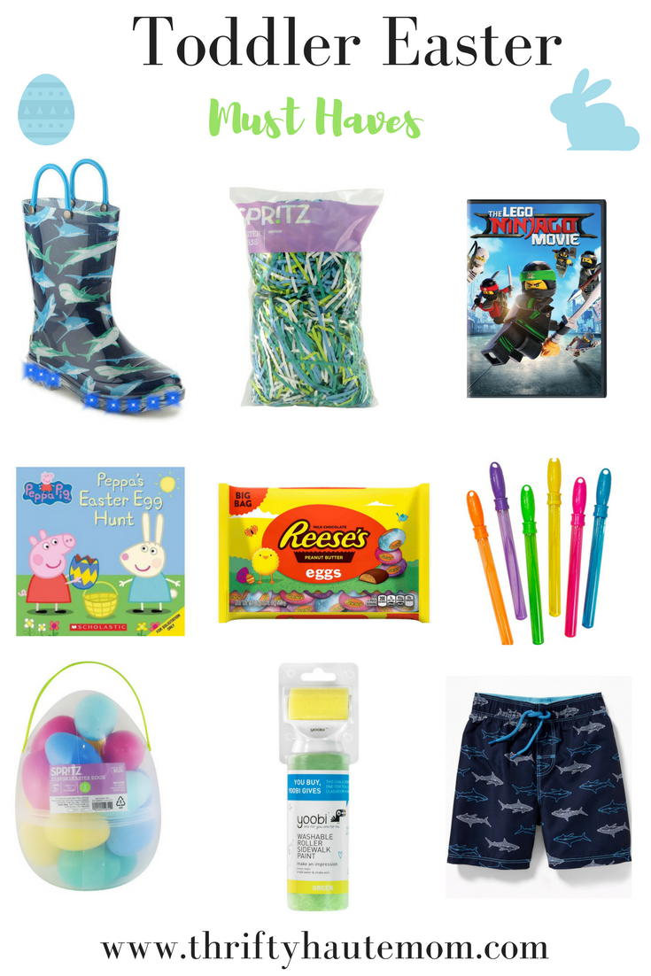 Toddler Easter Must Haves