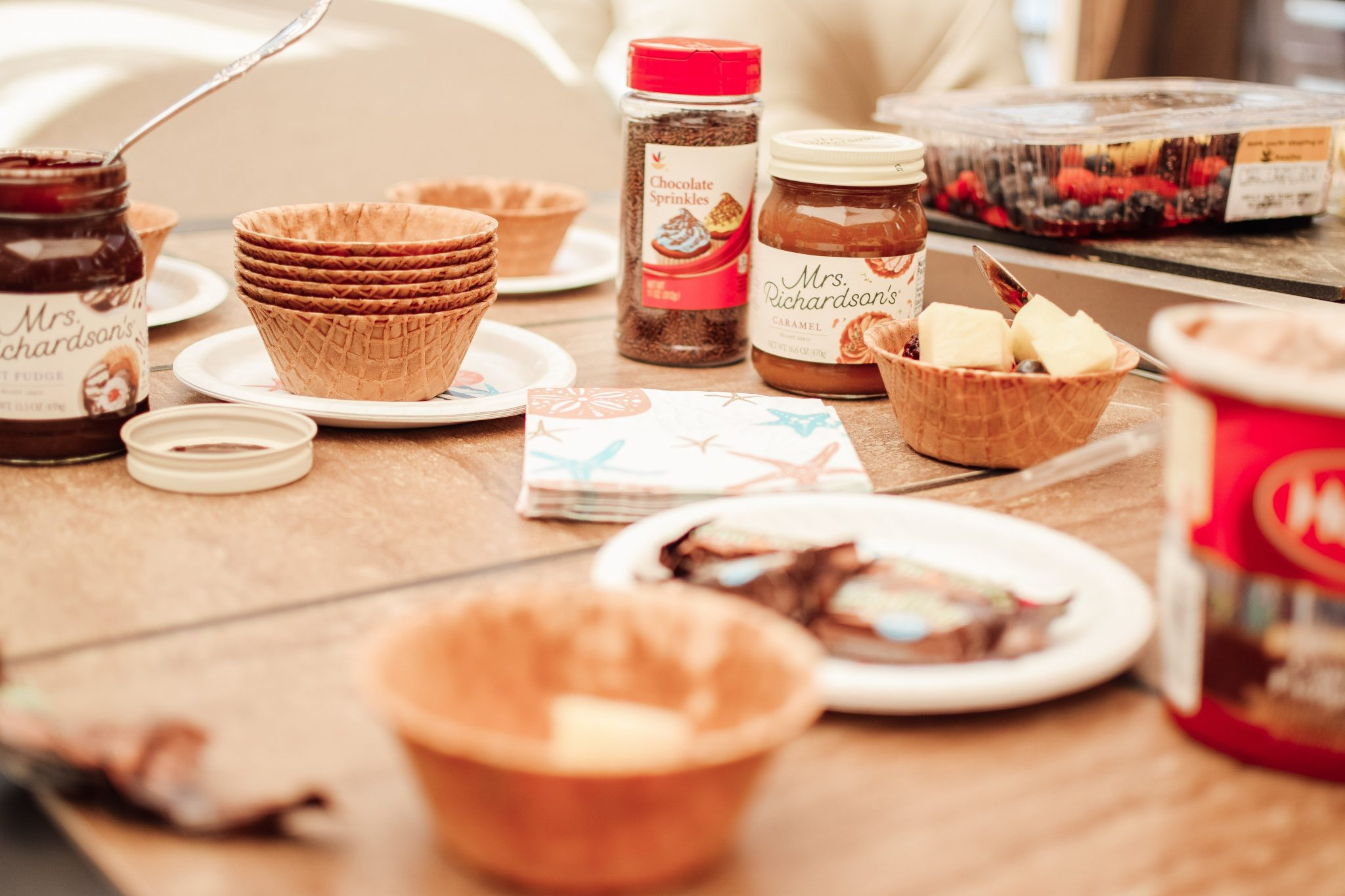 Ice Cream Party Essentials For End Of Summer Celebrations