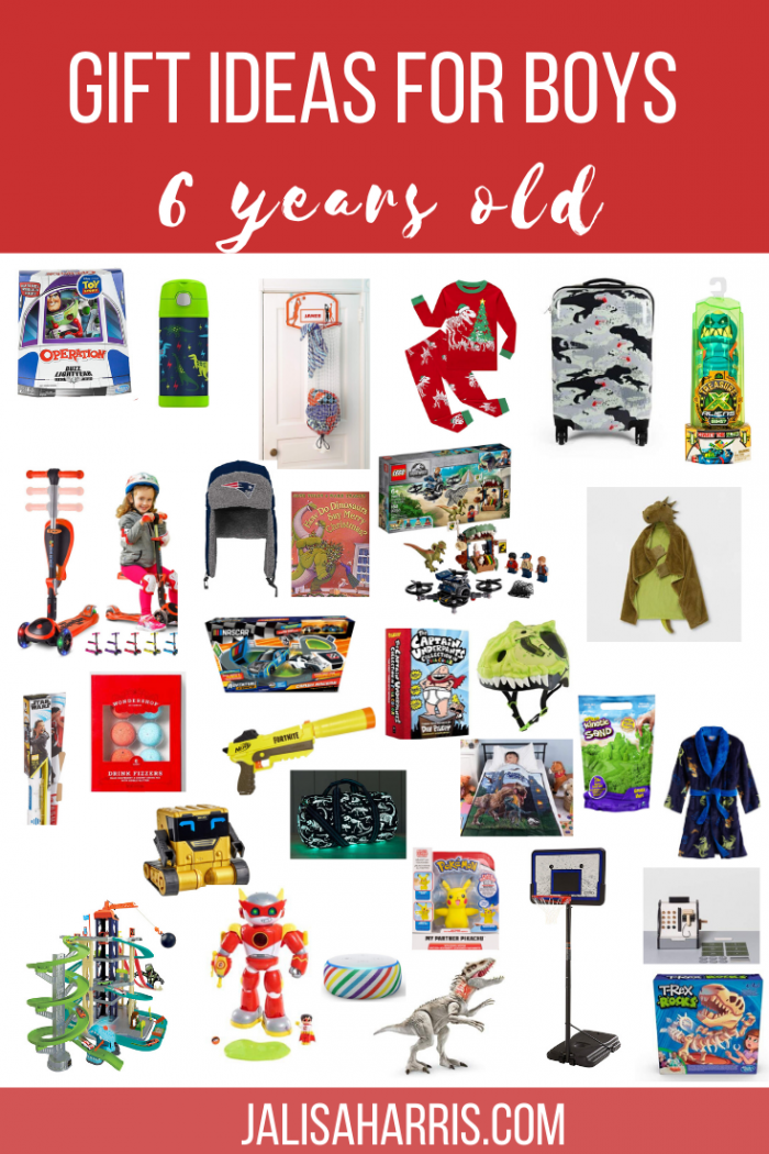 25+ Best Gifts For 6-Year-Old Boys