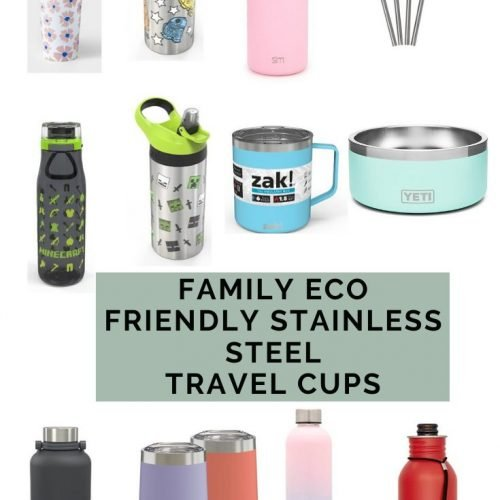 Family Eco Friendly Stainless Steel Cups