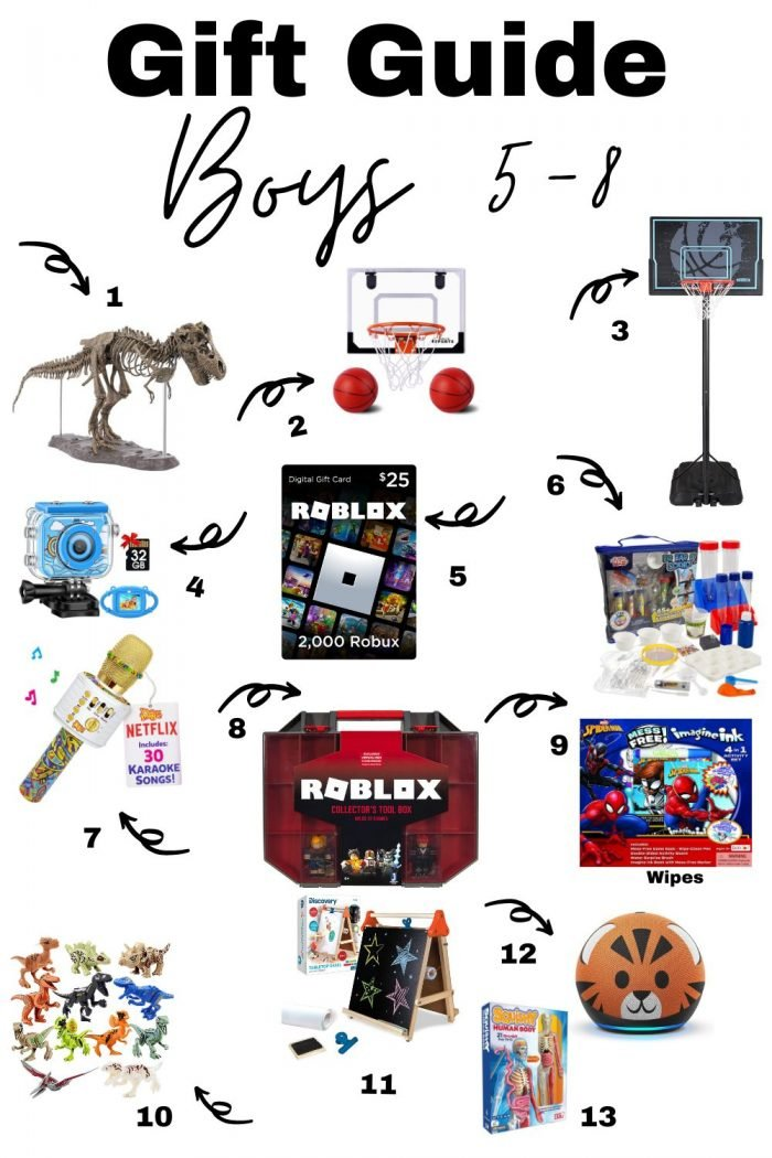 Christmas Gifts For Boys (5-8 years old)
