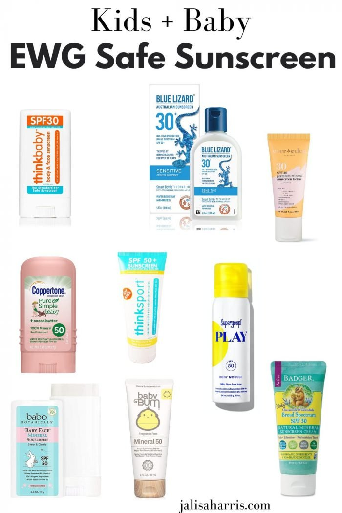 8+ Best Safe Sunscreens for kids and babies